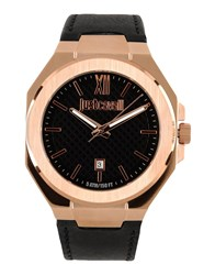 Just Cavalli Timepieces Wrist Watches Men Black