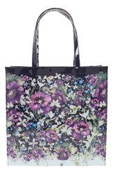 Ted Baker London Entangled Enchantment Large Icon Tote Blue Navy