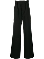 Raf Simons Pleated Flared Trousers 60