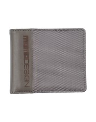 Momo Design Small Leather Goods Wallets Men Grey