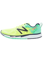 New Balance W1500gb3 Neutral Running Shoes Lime Glo Blue