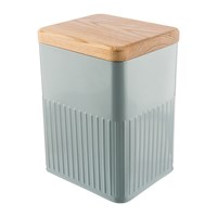 The Bakehouse And Co Grey Steel Storage Canister