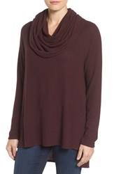 Gibson Women's Convertible Neckline Cozy Fleece Tunic