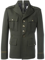 Maison Martin Margiela Military Inspired Jacket Green