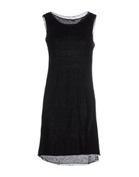 Kangra Cashmere Dresses Short Dresses Women Black