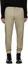 Levi's Beige Chino Jogger Trousers