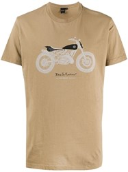 Deus Ex Machina Bike T Shirt Brown