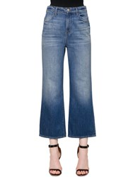 J Brand High Rise Joan Wide Leg Denim Jeans Blue