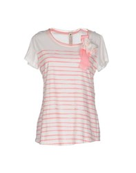 Le Coeur De Twin Set Simona Barbieri Topwear T Shirts Women White