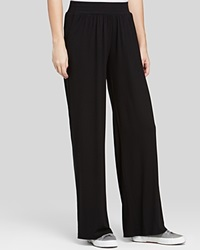 Three Dots Wide Leg Pants Black