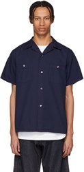 Blue Blue Japan Indigo Hand Dyed Shirt