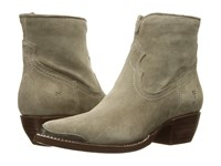 Frye Shane Tip Short Ash Soft Oiled Suede Women's Pull On Boots Gray