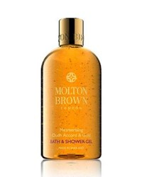 Molton Brown Mesmerizing Oudh Accord And Gold Bath And Shower Gel 10 Oz. 300 Ml