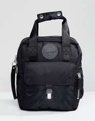Dr. Martens Dr Black Small Flight Backpack Black 15 Nylon 820