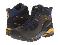 Keen Utility Pittsburgh Boot Raven Yellow Men's Work Boots Gray