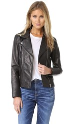 Soia And Kyo Maritza Leather Jacket Black