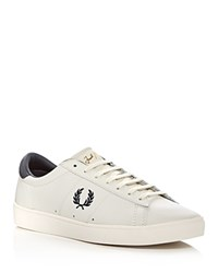 Fred Perry Spencer Lace Up Sneakers White