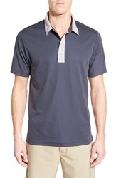 Men's Travis Mathew Trim Fit Golf Polo Navy