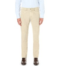 Slowear Tapered Corduroy Chinos Beige