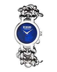 Versus By Versace 36Mm Agadir Bracelet Watch Blue