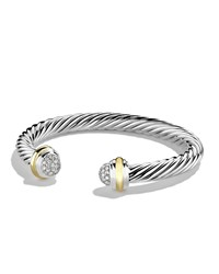 7Mm Silver Ice Bracelet David Yurman White