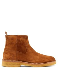 A.P.C. Timothe Suede Chelsea Boots Brown
