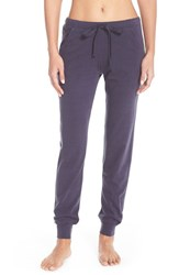 Women's Natori 'Cosi' Jogger Sweatpants Blue