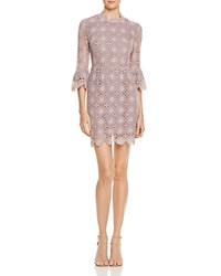 Little White Lies Jenna Bell Sleeve Lace Dress Lilac