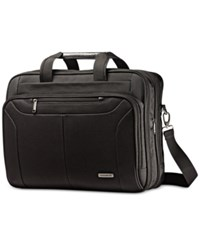 Samsonite Ballistic Expandable Toploader Laptop Briefcase Black