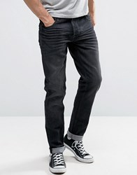 Solid Skinny Fit Jeans In Light Blue Wash With Stretch Light Wash