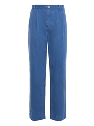 Marc By Marc Jacobs Cotton Pleat Front Chinos