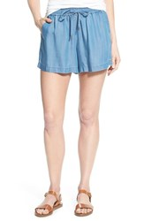Women's Two By Vince Camuto Chambray Drawstring Waist Shorts