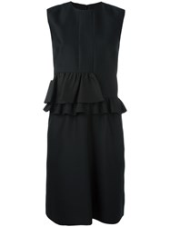 Paul Smith Peplum Dress Black