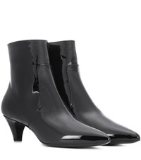 Calvin Klein 205W39nyc Kat Patent Leather Ankle Boots Black