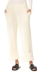 Opening Ceremony Rib Snap Pants Ivory