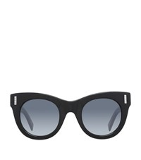 Boucheron Cat Eye Sunglasses Female Black