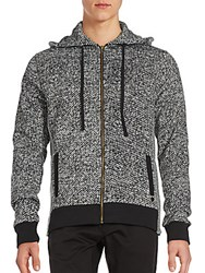 Cohesive And Co. Malo Side Zip Hoodie Grey