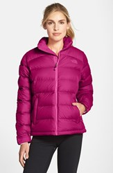 The North Face Women's 'Nuptse 2' Packable Down Jacket Dramatic Plum