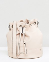 Faith Chain Handle Bucket Bag Neutral Cream