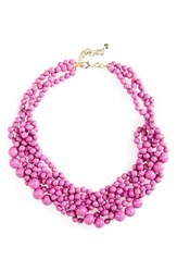 Baublebar Women's 'Bubblestream' Collar Necklace Bright Purple
