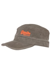 Superdry Bex Cap Army Green Oliv