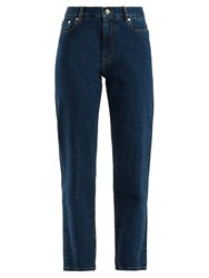 Joseph Taren High Rise Straight Leg Jeans Blue