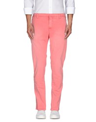 Dondup Trousers Bermuda Shorts Men Salmon Pink