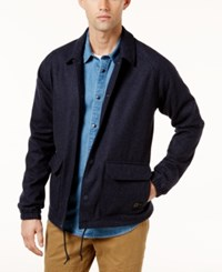 Rvca Men's Wrenchman Ii Jacket Federal Blue Heather