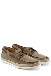Tod 'S Suede Boat Shoes