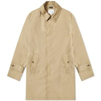 Nanamica Gore Tex Soutien Collar Jacket Brown