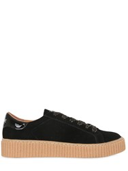 No Name 30Mm Picadilly Suede Creeper Sneakers