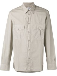 Aspesi Two Pocket Shirt Men Cotton 40 Nude Neutrals