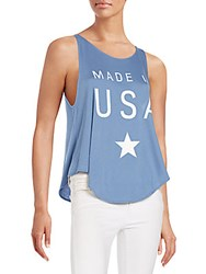 Wildfox Couture Cassidy Tank Top Night Run