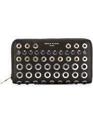 Sonia Rykiel Studded Wallet Black